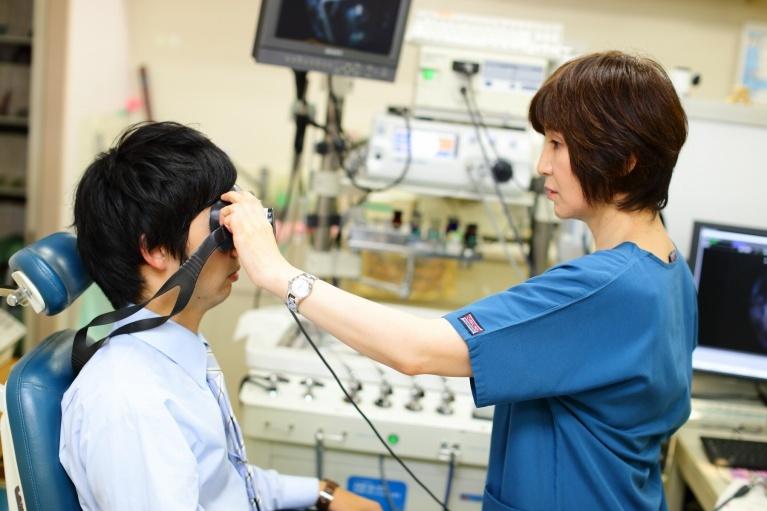 こがねい耳鼻咽喉科クリニックのめまい治療